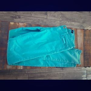 JUST USA Turquoise Skinny Jeans 25